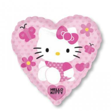 KT铝箔气球 Hello Kitty Heart [2561902]