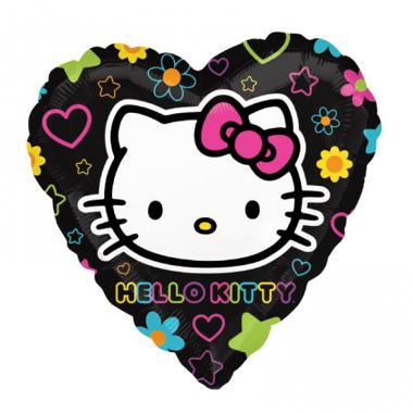 KT铝箔气球 Hello Kitty Heart [2651902]