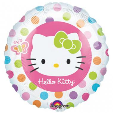 彩虹KT铝箔气球 Hello Kitty Rainbow [A11823002]
